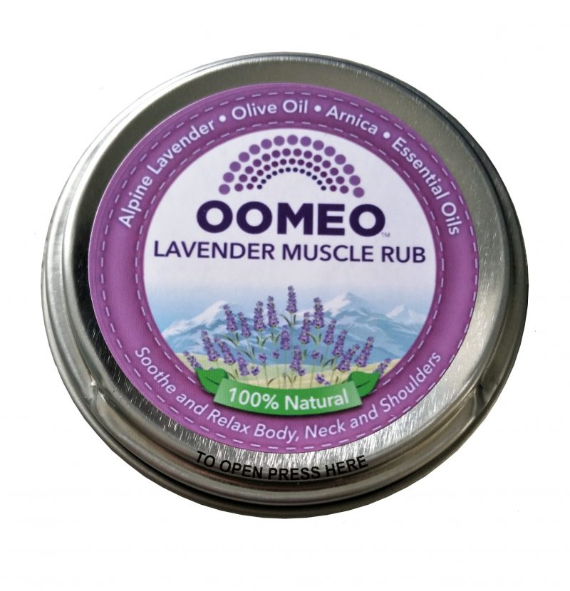 50ml Lavender muscle rub