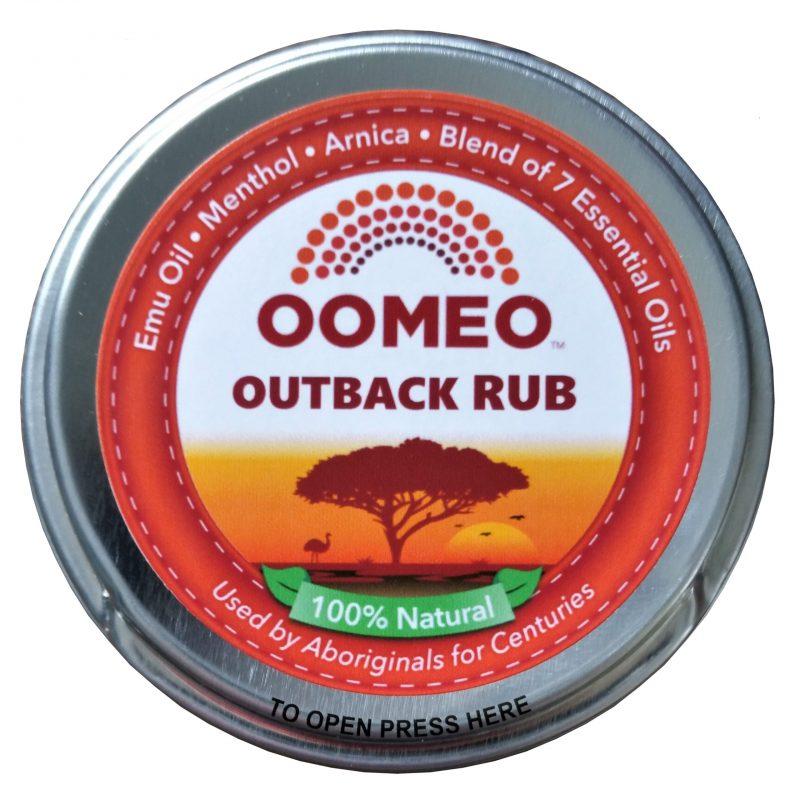 50 ml outback rub