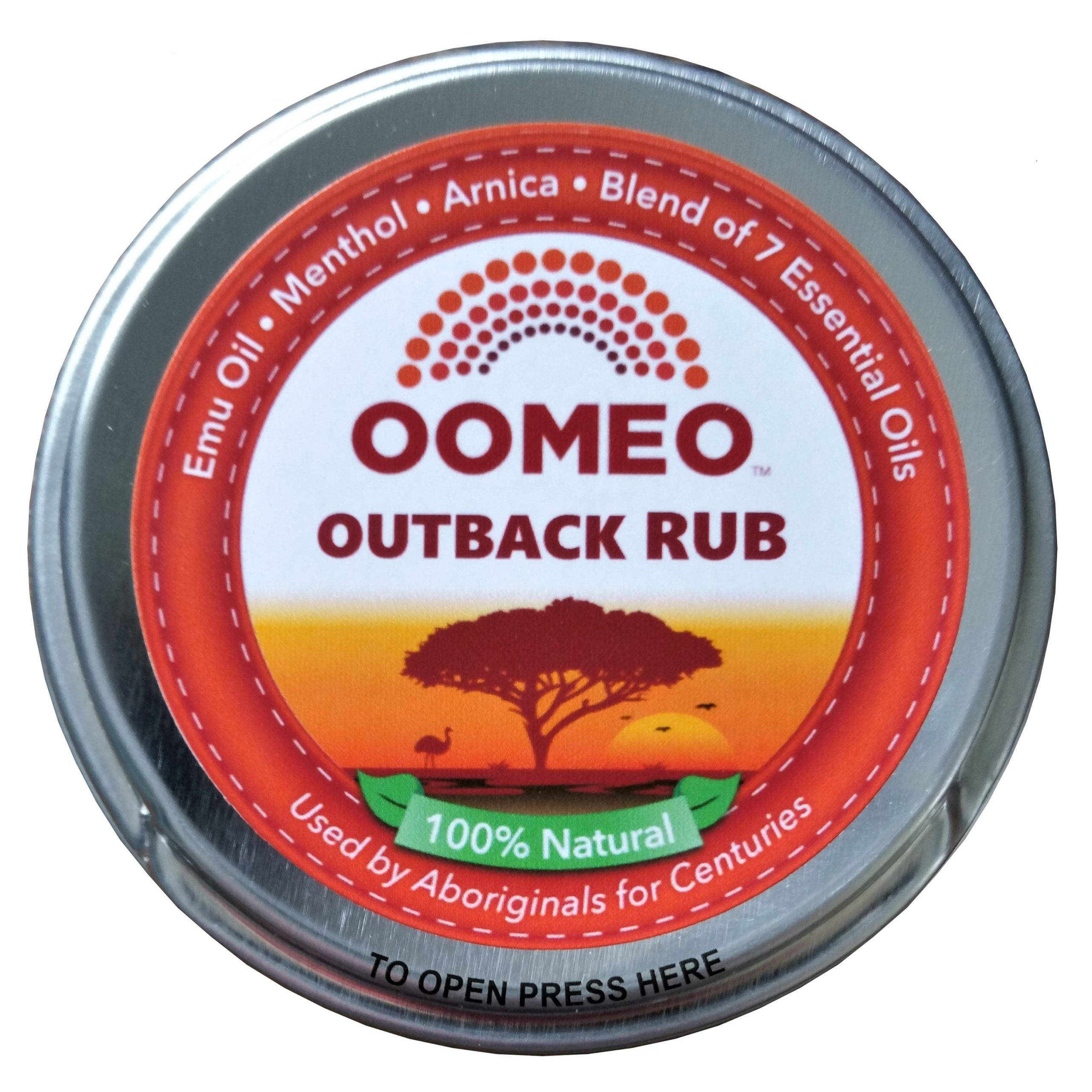 50 ml outback rub