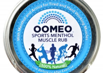 Sports menthol muscle rub 50 ml front label