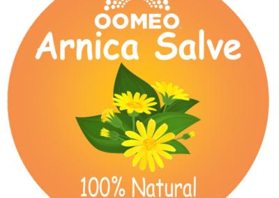 Arnica salve colour label