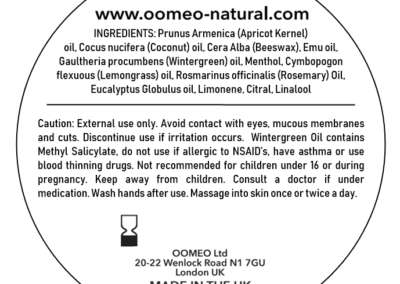 Wintergreen label 60ml