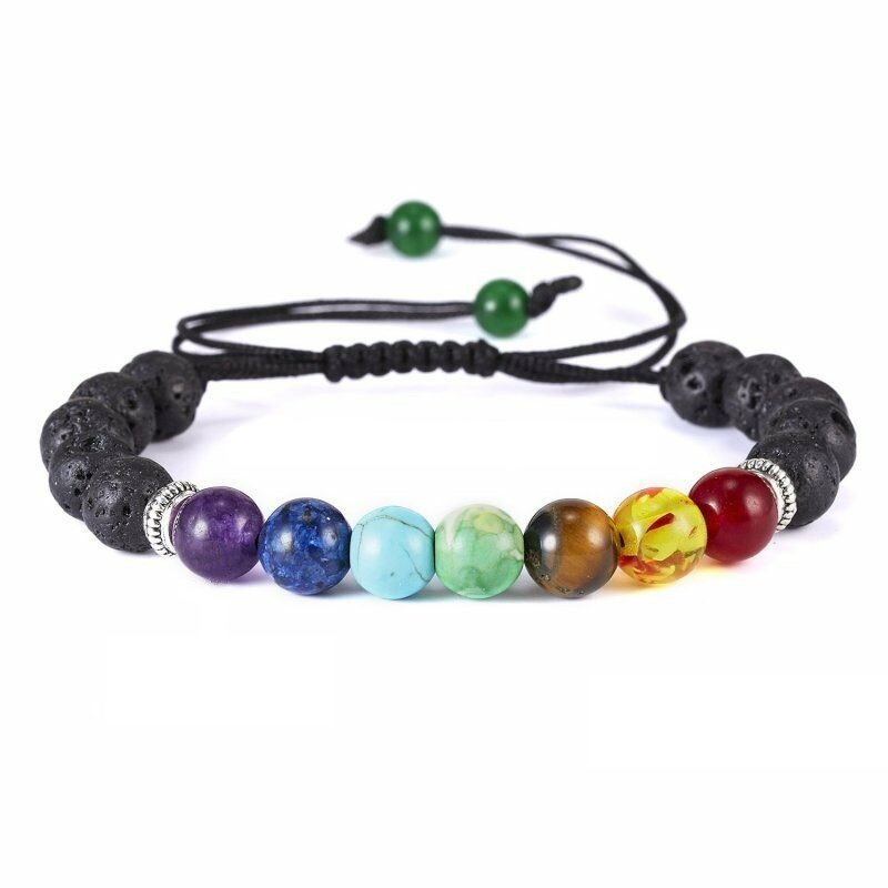 Lava bead chakra adjustable bracket
