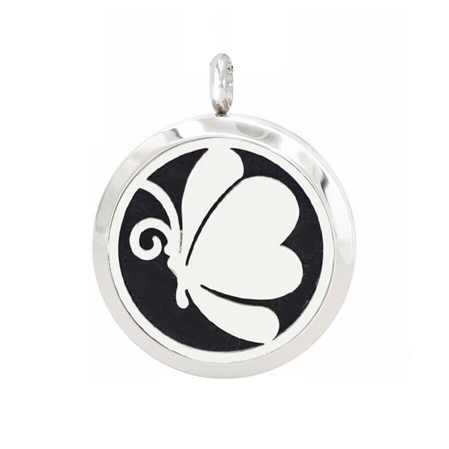 Butterfly necklace diffusers