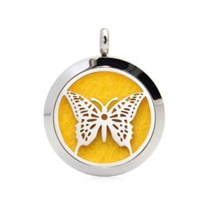 Butterfly necklace diffuser