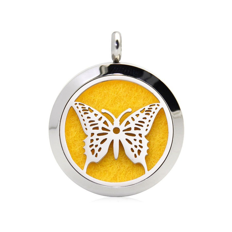 Butterfly necklace diffuser (15 colours)