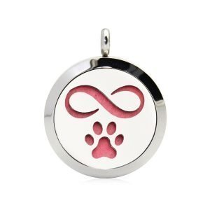 Dog forever necklace diffuser