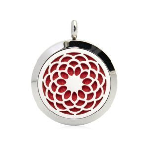 Flower necklace diffuser (poppy style)