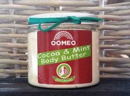 Cocoa Body Butter with Mint